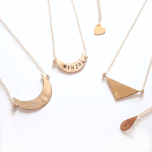 Handmade Name Pendant
