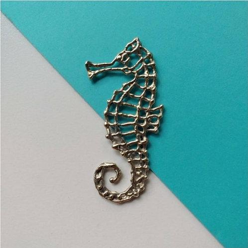 Silver Seahorse Pendant