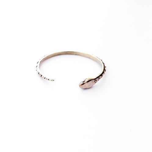 Serpent Statement Cuff Bracelet