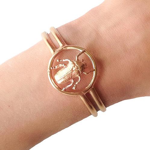 Scarab Beetle Bracelet