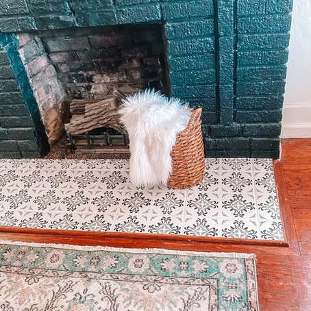 The What-Nots of Tile Stenciling