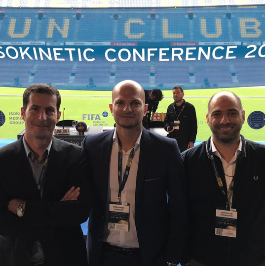 Atromitos FC Medical Team at Isokinetic Conference, Barcelona