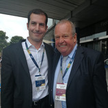 With FIFA Medical Committee President, Michel D'Hooghe