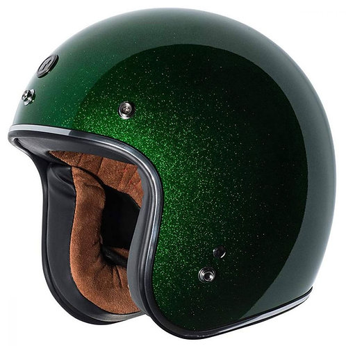 Capacete Torc T-50 Limecycle Mega Flake Green ECE