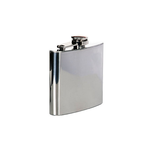STAINLESS STEEL FLASK 5OZ