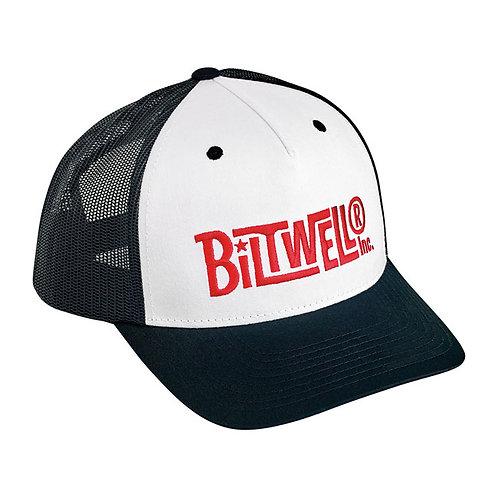 BILTWELL VINTAGE SNAPBACK CAP BLACK/WHITE/RED