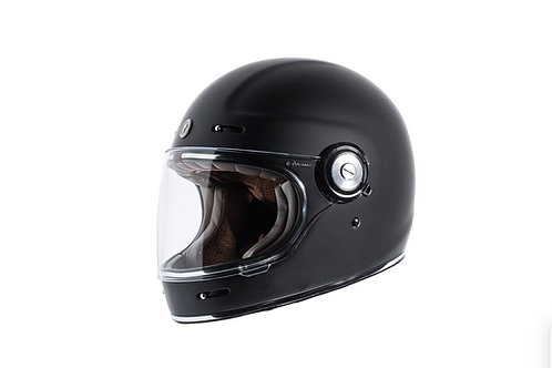 Capacete T-1 Torc Retro Full Face Helmet Gloss Black
