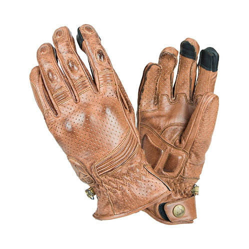 BY CITY RETRO GLOVES, BROWN