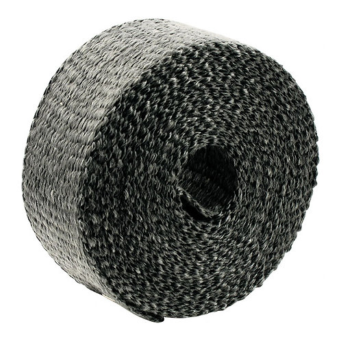 PAUGHCO EXHAUST PIPE WRAP BLACK 5cm x 7,62metros