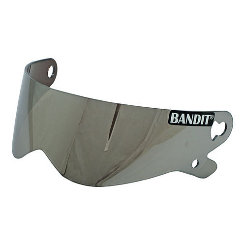 BANDIT XXR VISOR, SILVER MIRRORED