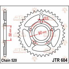 CREMALHEIRA 520 40D (JTR604.40) JT