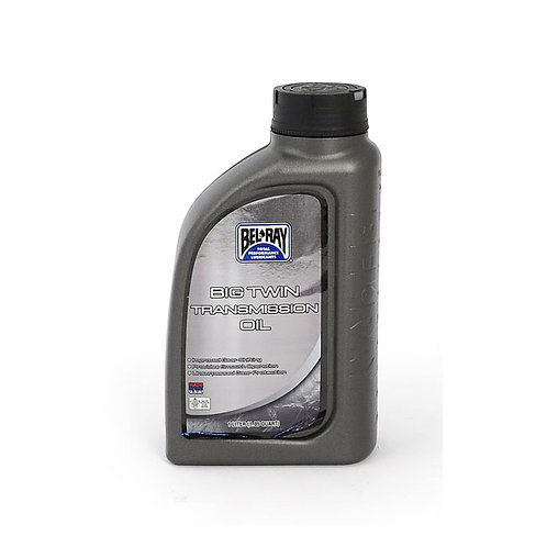 BEL-RAY BIG TWIN TRANSMISSION OIL, 85W-140. 1L