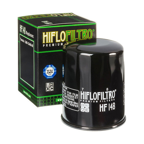 FILTRO OLEO HIFLOFILTRO HF148 (YAMAHA / SUZUKI / KAWASAKI)
