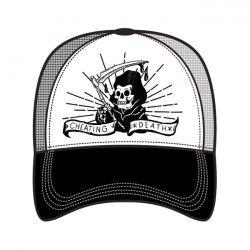 LT, MEN'S TRUCKER HAT CHEATING DEATH