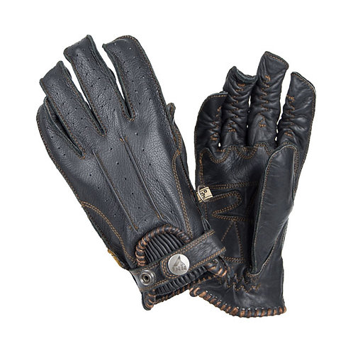 BY CITY SECOND SKIN GLOVES, BLACK