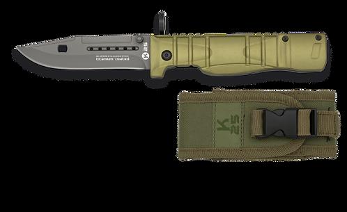 Navalha Bayoneta K25: 9.3 cm