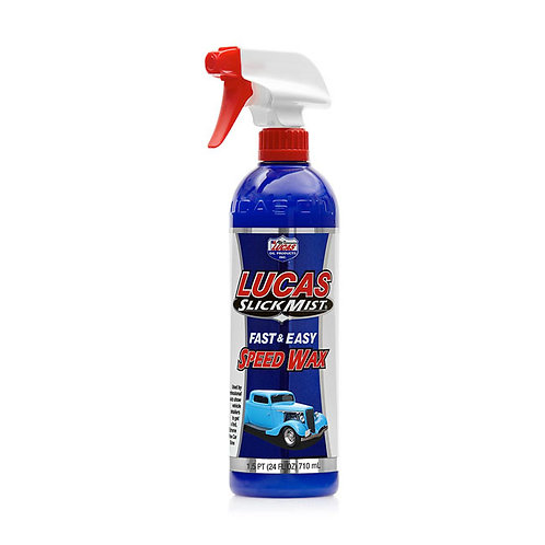LUCAS SLICK MIST, SPEED WAX