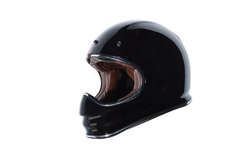 Capacete T-3 Torc Retro MX Helmet Gloss Black