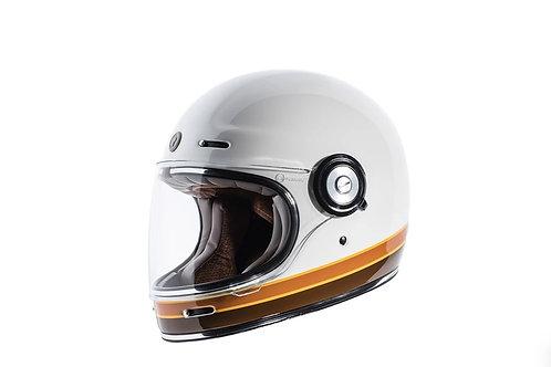 Capacete T-1 Iso Bars Torc Retro Full Face Helmet Gloss
