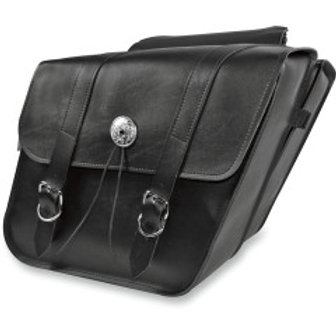 Willie & Max Deluxe Series Compact Slant Saddlebags