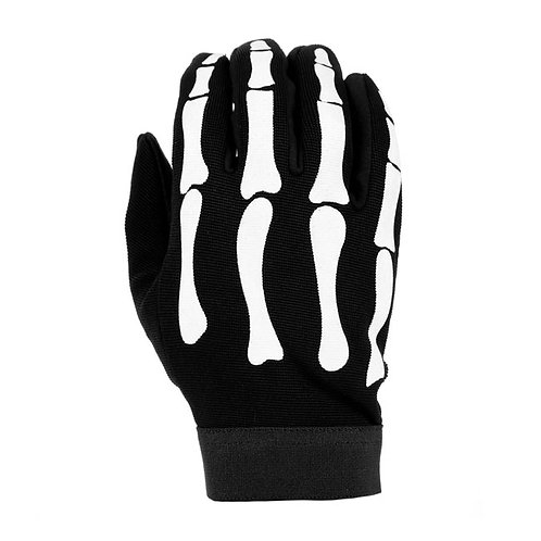 LUVAS CHOPPERS MECHANIC GLOVES BONES