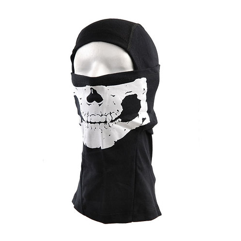 SKULL BALACLAVA 100% COTTON