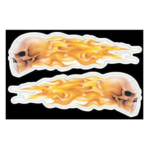 """VINIL LETHAL THREAT""""FLAMING SKULLS"""""""