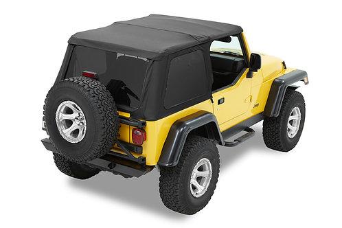 Capota Trektop NX Jeep Wrangler TJ (1996 to 2006) black