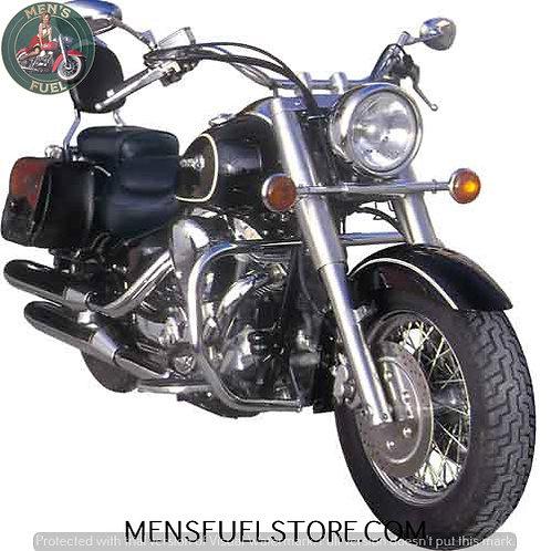 ENCOSTO YAMAHA WILD STAR1600 (Xv-A)- ROYAL STAR 1300 ENCOSTO EM PELE