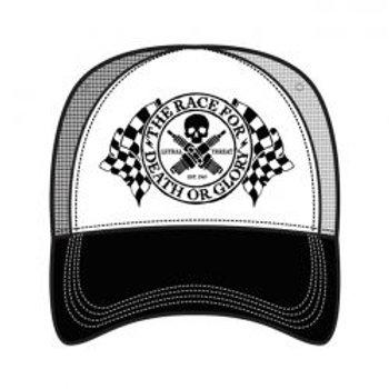 LT, MEN'S TRUCKER HAT DEATH OR GLORY