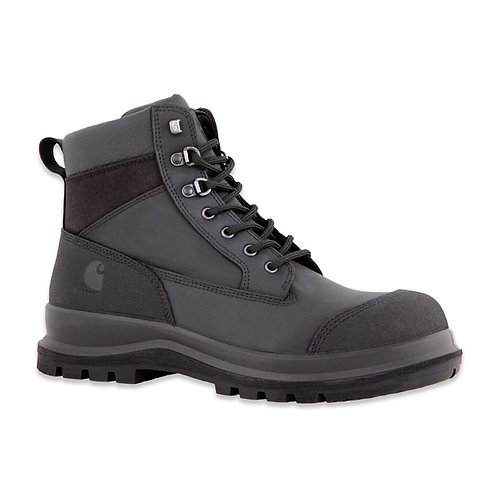 BOTAS CARHARTT DETROIT S3 SAFETY MID BOOTS BLACK