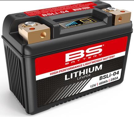 Bateria de lítio BS BATTERY BSLI-04