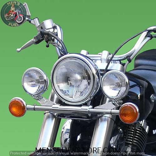 SUPORTE FAROIS YAMAHA DRAG STAR 1100/650 CLASSIC