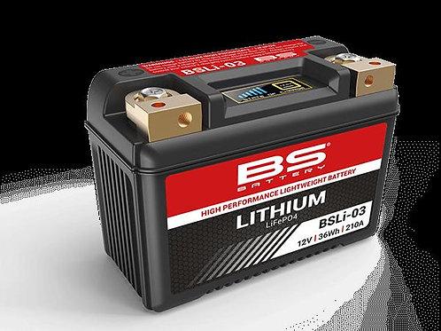 Bateria de lítio BS BATTERY BSLI-03