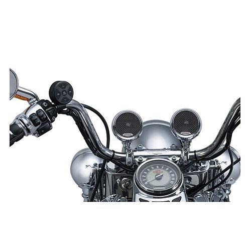 Kuryakyn Road Thunder® Speaker Pods & Bluetooth® Audio Controller by MTX®