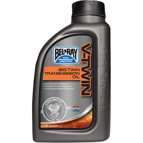 BEL-RAY TRANSMISSION OIL BIG TWIN 1 LITER (HARLEY)
