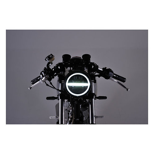 NEO VINTAGE LED HEADLIGHT BLACK