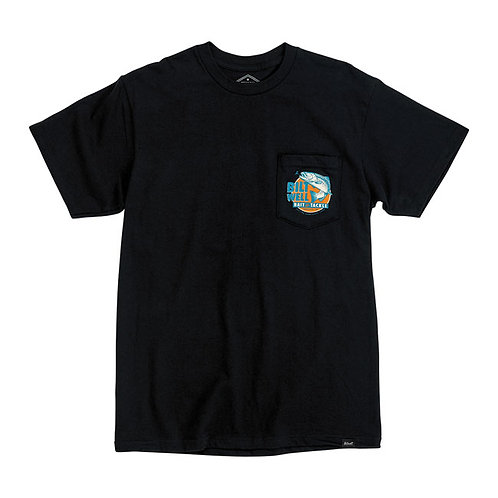 BILTWELL BAIT POCKET T-SHIRT BLACK