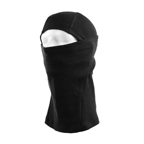 COTTON BALACLAVA BLACK