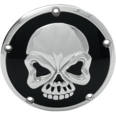 DERBY COVER SKULL TWIN CAM