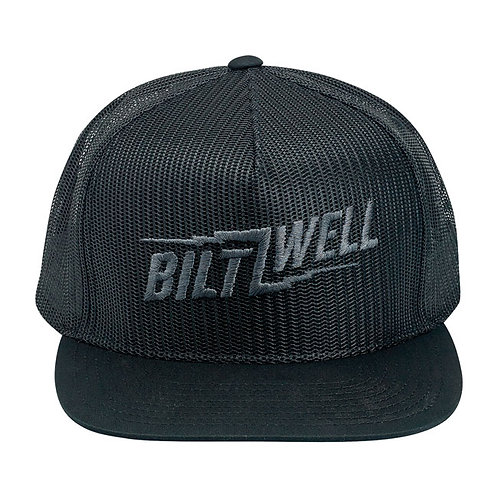 BILTWELL BOLTS SNAPBACK CAP BLACK