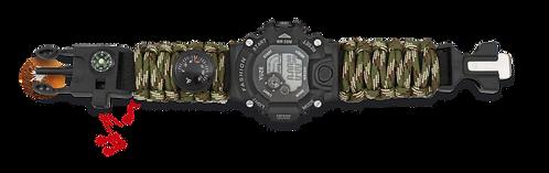 Dig.Paracord Relógio BARBARIC