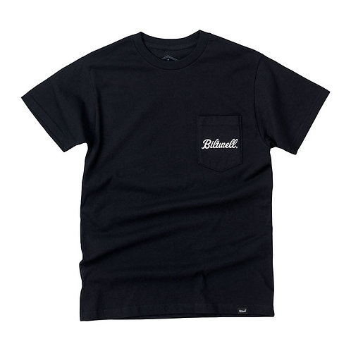 BILTWELL COBRA POCKET T-SHIRT BLACK