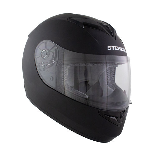 Stealth Full Face Helmet V121 Matt Black