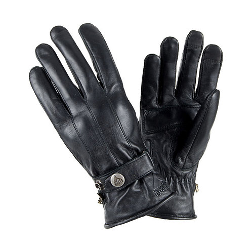 BY CITY ELEGANT GLOVES, BLACK
