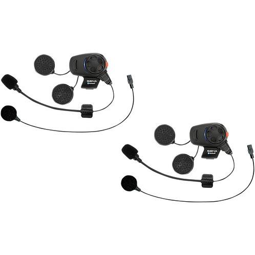 SENA SMH5 COMMUNICATION SYSTEM DUAL-PACK BLACK