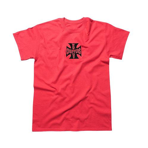 WCC MALTESE CROSS ATX T-SHIRT RED