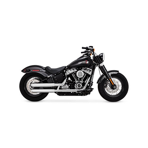 "HD VANCE & HINES, TWIN SLASH 3"" SLIP-ONS"