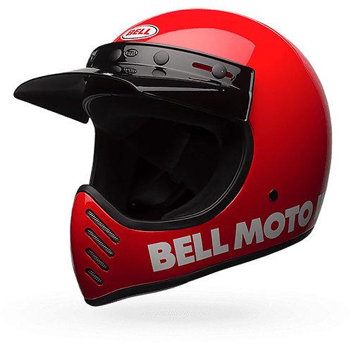CAPACETE BELL MOTO-3 CLASSIC VERMELHO