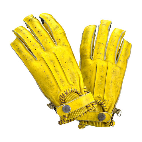 BY CITY SECOND SKIN GLOVES, YELLOW